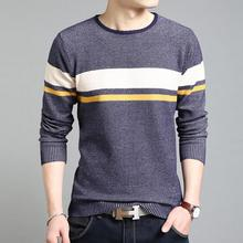 Men Sweaters 2017 Men's Fashion Design Color Matching Man Sweater Winter Leisure Plus Size Mens Pullover Sweaters