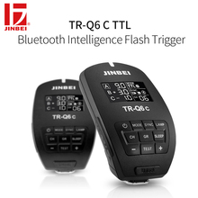 JINBEI TR-Q6 HSS 1/8000s Trigger for Canon 2.4G Wireless Radio Studio Flash TTL Transmitter Photo Lighting Remote Controller