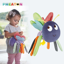 Bee Baby Rattles 0-12 Months Plush Doll Baby Toys Kids Mobile Hanging Bed Bell Car Stoller Brinquedos Bebes