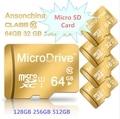Unidad de almacenamiento marca 2016 Nueva Capacidad Real de Alta Velocidad de Oro Regalo 8 GB 16 gb 32 gb 64 gb 128 gb tarjeta de memoria tf tarjeta sd micro caliente