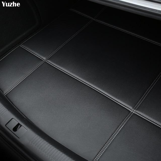 Yuzhe Car Trunk Mats For Mercedes-Benz W169 W176 W245 W246 W203 W204 W203 GLA Waterproof Carpets car accessories Cargo Liner