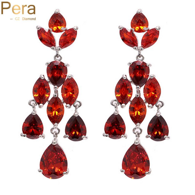 Online get cheap chandelier earrings gold large aliexpress pera cz mozeypictures Choice Image
