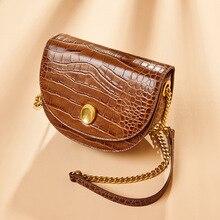 Fashion Saddle Animal Prints Crossbody Bags For Women Shoulder Bag Luxury Handbag Split Leather Women Bag Designer Messenger Bag