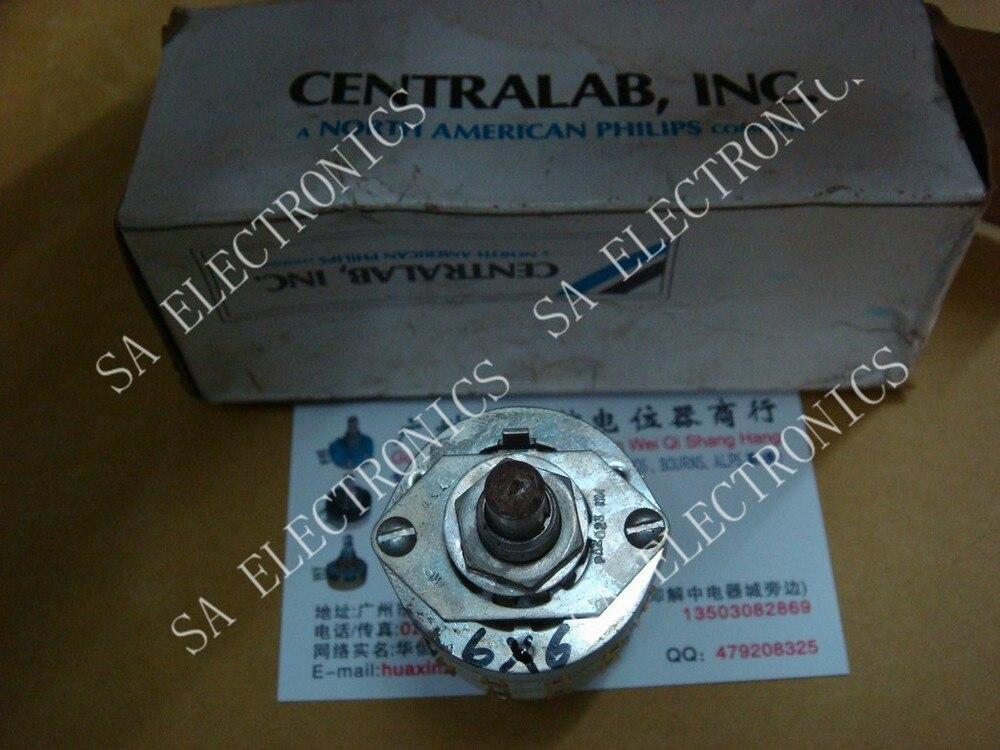 BELLA U S CENTRALAB 6 foot font b knife b font X6 silver band switch