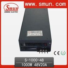 1000 W 48 V 20A de salida única fuente de alimentación conmutada con CE ROHS de China proveedor industrial y usado llevado