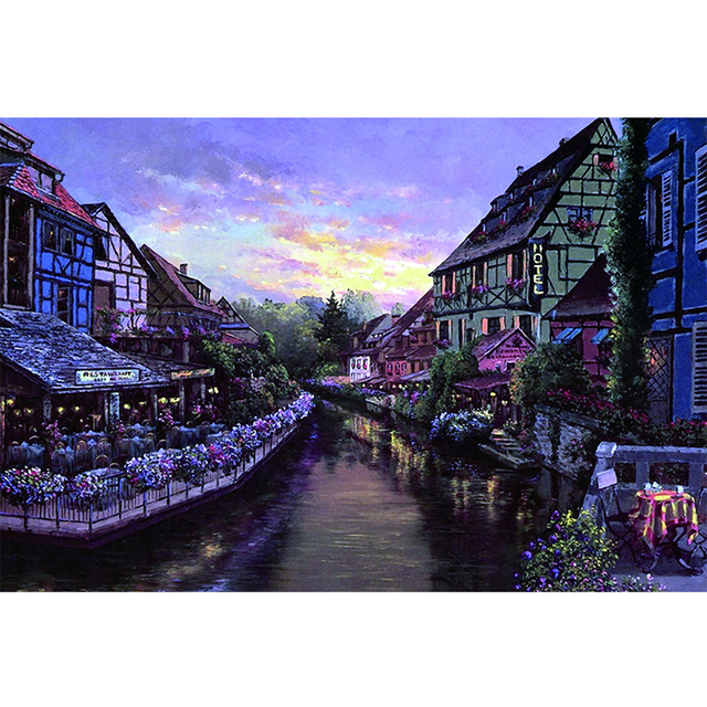 Landscapes Pattern Jigsaw Puzzles