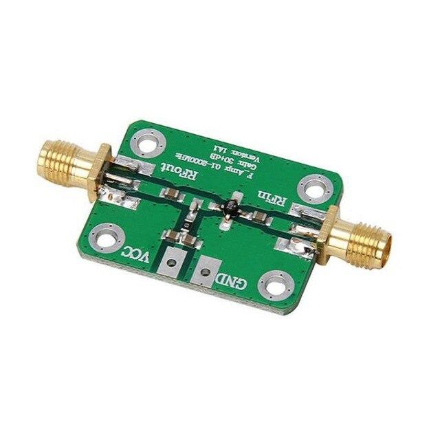 0.1-2000 MHz RF Băng Rộng Khuếch Đại 30dB thấp-tiếng ồn LNA Mô-đun Băng Thông Rộng Receiver