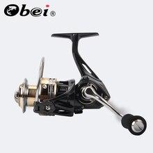 OBEI SR2000 carrete de pesca giratorio 9BB   1 bolas de rodamiento 2000 Series bobina de Metal carrete de pesca de roca