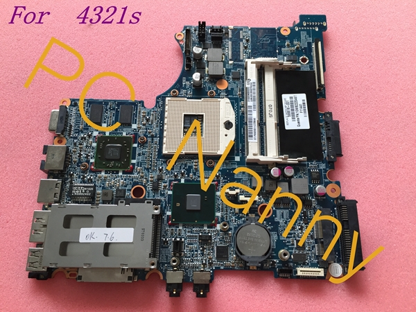 ФОТО For HP probook 4321s 599518-001 laptop motherboard hm57 intel cpu Non-Integrated full tested