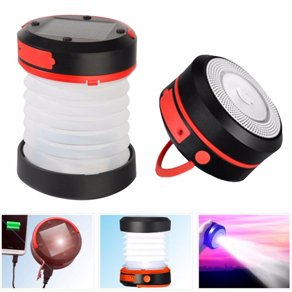 Multifunction Retractable Outdoor Camping Light LED Flashlight Mini Portable Tent Hanging Light Emergency Lamp Torch Light cob led work light usb rechargeable camping light outdoor portable tent light emergency light maintenance light working lamp red