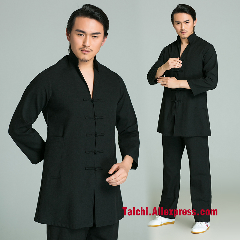 Tai Chi Uniform  Male Martial Art Clothes Kung Fu Clothing   Performance Clothes Tang Costume