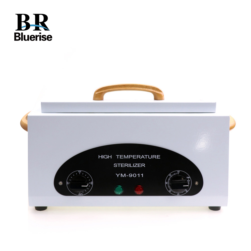 цена Sterilizer for Manicure Tools 300W 220V EU Plug Dry Heat Sterilizer for Tools High Temperature Cabinet Nail Machine Beauty Salon