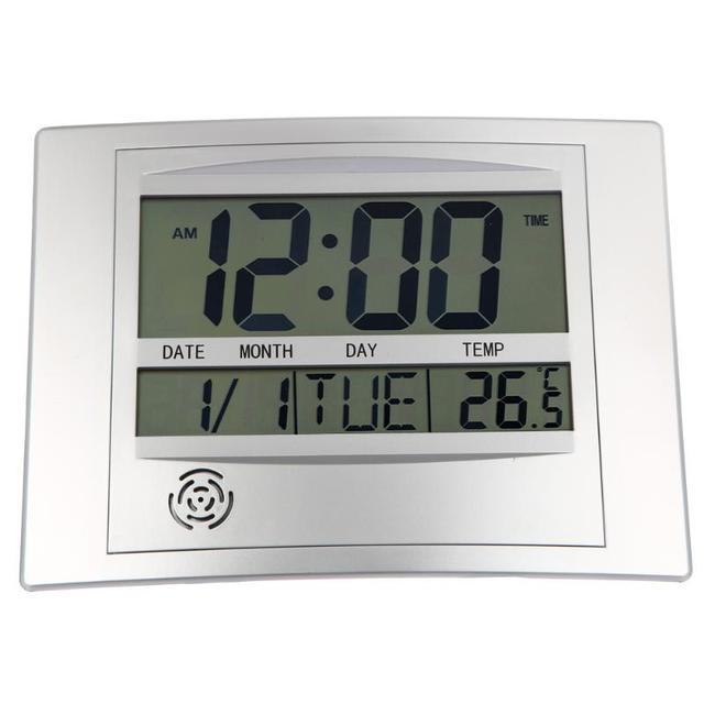 aliexpress acheter calendrier horloge murale avec numérique