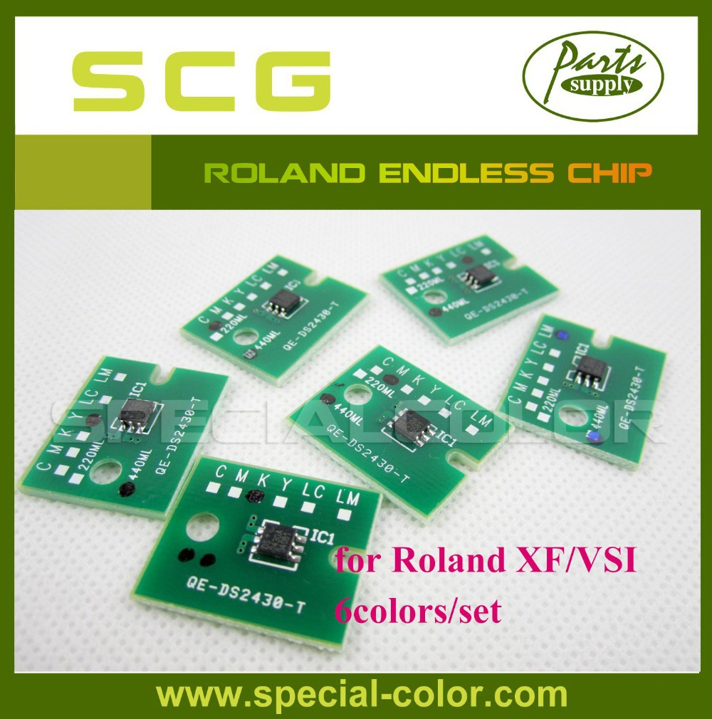 ФОТО New Roland Endless Chip for Roland XF/VSI Chip 6colors/set