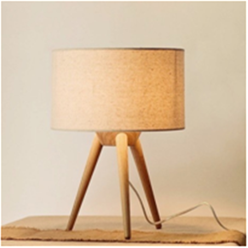 Contemporary Creative Style Loft Wood Wooden Table Lamp solid wood Light For Living Room Bedroom Bedside Home Decor Coffee Shop