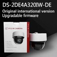 Free Shipping English Version DS 2DE4A320IW DE 3MP Network IR Mini PTZ Camera 3D Intelligent Positioning