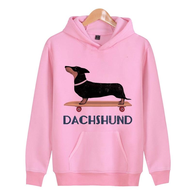 Dachshund Fashion Hoodies Men 3D Print Sweatshirt Clothing Unisex Couples Long Sleeves Hoodies Hip-hop X5293