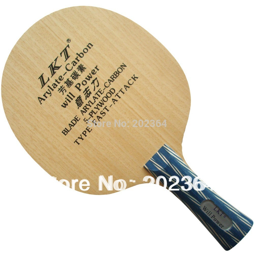 LKT Will Power (L 1007) Arylate-Carbon Table Tennis Blade (Shakehand) for PingPong Racket Shakehand long handle FL presidential nominee will address a gathering