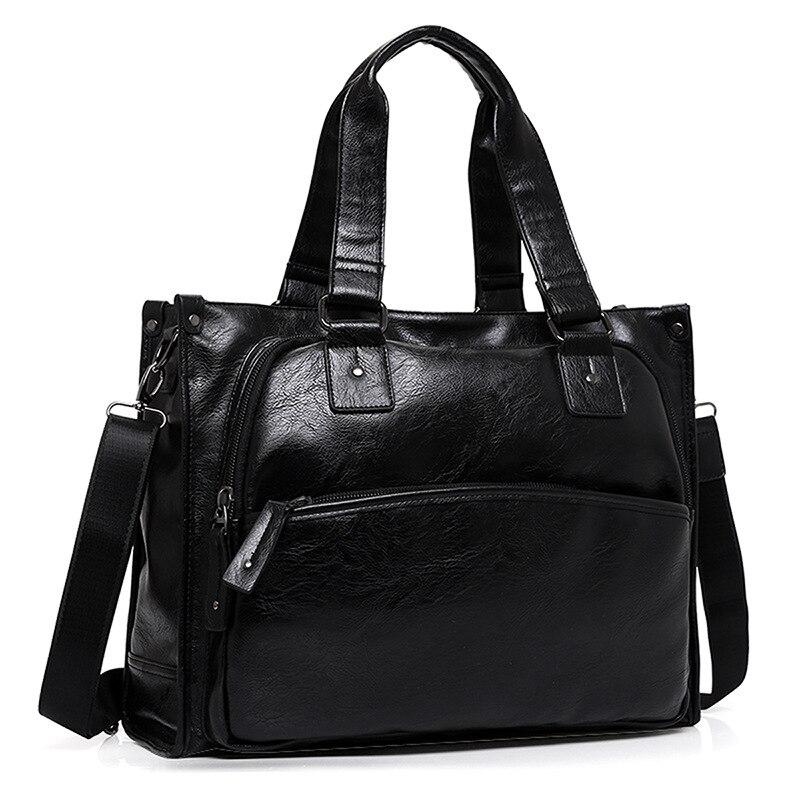 2018 Neue Ankunft Leder Reisetaschen Für Männer Große Kapazität Portable Männlichen Umhängetaschen Männer Handtaschen Vintage Reise Duffle Tasche