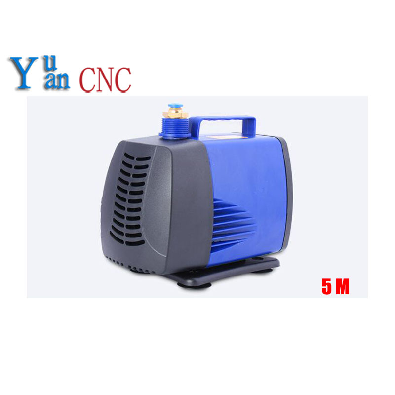 8mm water nozzle submersible water pump 150W 220V 5m water pump for cnc router spindle motor Engraving machine pumps