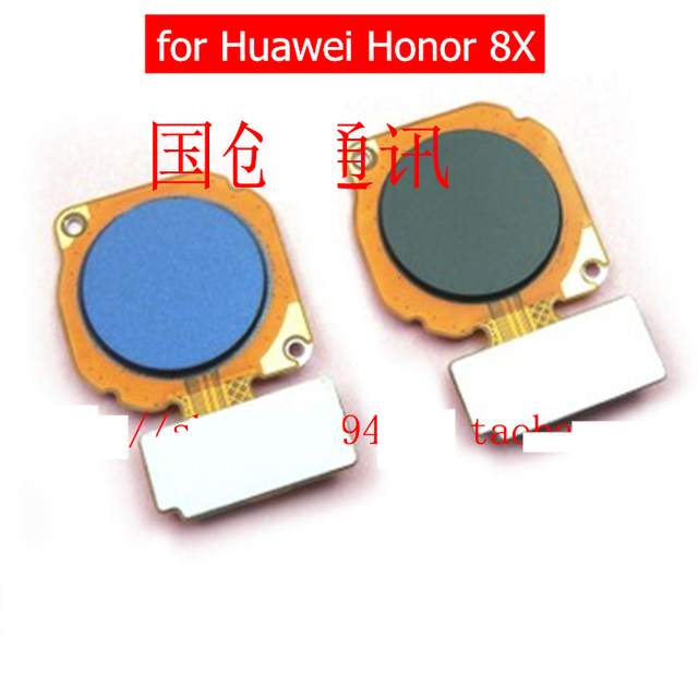 US $8 99 |for Huawei Honor 8X Fingerprint Scanner Flex Cable Touch Sensor  ID Home Button Return Ribbon Flex Cable for Honor 8X Repair Part-in Mobile