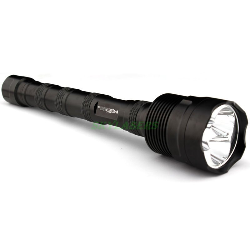 3T6 Flashlight 5 Mode 3800 Lumens 3 CREE XM L T6 LED Flashlight 18650 Torch Extended