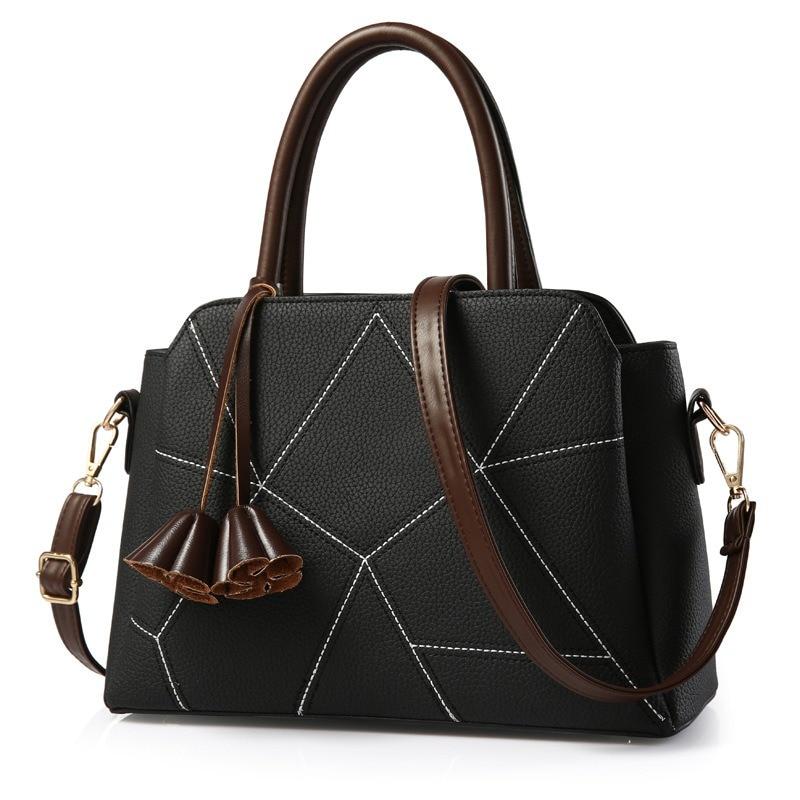 women bag Fashion Casual women s handbags Luxury handbag Designer Shoulder  bags new bags for women 2018 with flowers bolsa 1d1443ff8b758