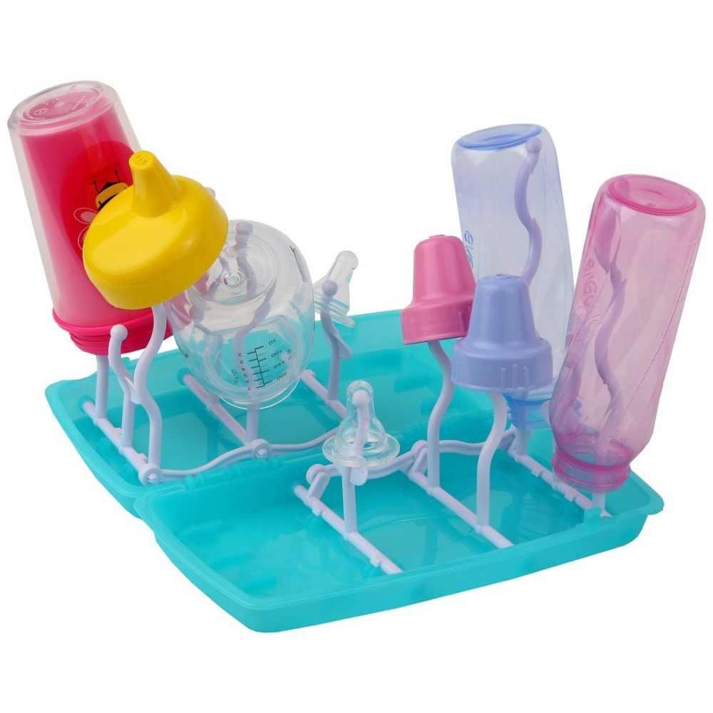Питание новорожденного чашки стенд бутылка сушилка нипплер крылом держатели для сосок вешалки для соски сушилка escurridor biberones