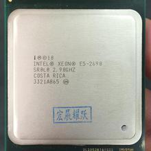 Процессор Intel Xeon E5-2690 E5 2690 Восьмиядерный 2,9 г SROL0 C2 LGA2011 Процессор работает должным образом ПК рабочего стола сервера процессор