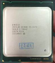 Intel Xeon Processor E5-2690 E5 2690 Eight Core 2.9G SROL0 C2 LGA2011 CPU 100% working properly PC Server Desktop Processor(China)
