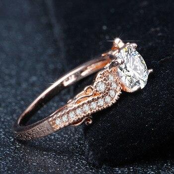14K Gold Princess Engagement Diamond Ring for Women Peridot Anillos De Bizuteria Gemstone Bague Etoile Mystic Jewelry Rings 2019 4