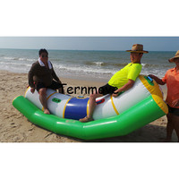 inflatable water seesaw inflatable water totter for sale flatable water banana seesaw single line double lines seesaw rocker