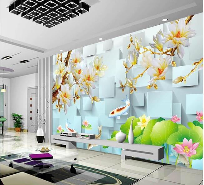 3d wallpaper custom mural non-woven 3d room wallpaper wall stickers 3 d box yulan TV setting wall photo wallpaper for walls 3 d 3d wallpaper custom mural non woven 3d room wallpaper wall stickers abstract tree 3 d tv setting photo wall paper for walls 3d