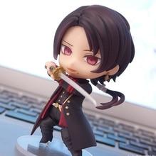 Touken Ranbu Online 518# Kashuu Kiyomitsu Figure Okita Souji Q version 10CM PVC Action Figures Collectible Model Toy
