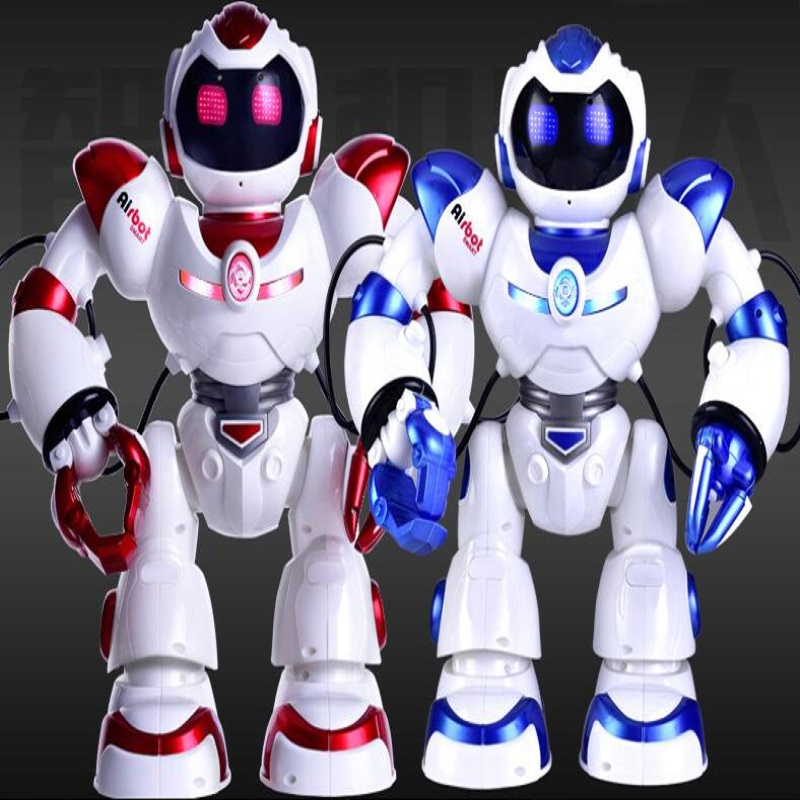 Rc Robot Fighting Humanoid Intelligent  Robot Charge Toy Model Sing Dance Missile