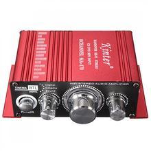 Мини Homen компьютер прикроватный усилитель чистый звук Ультра низкий уровень шума MP3 динамик 2 CH DC 12 В 20 Вт