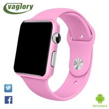 G11 vaglory bluetooth smart watch para las mujeres notificador de sincronización soporte de tarjeta sim de seguimiento de fitness reloj smartwatch dz09 pk u8