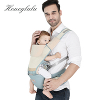 Honeylulu Favo De Mel Malha Estilingue Portador de Bebê Para Recém-nascidos de Verão Respirável Multifuncional Ergoryukzak Hipseat Canguru Para O Bebê