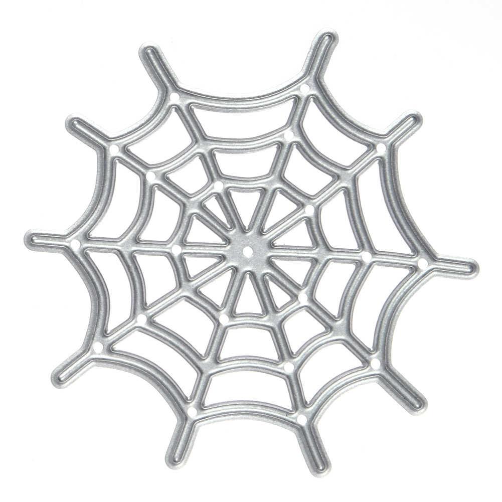 Spinnenweb Patroon Metalen Ambachten Stansmessen Voor Diy Scrapbooking Decoratieve Ambachtelijke Fotoalbum Embossing Diy Papier Crad