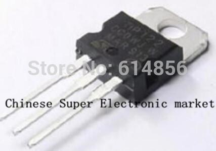 200PCS TIP122 TO-220 triode transistor audion good quality and ROHS
