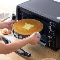3PCS/Set Baking Pans Kitchen Cake Tool Cake Mold Metal Round Baking Dish Bakeware Non stick Mold Kitchen Accessories Gadget