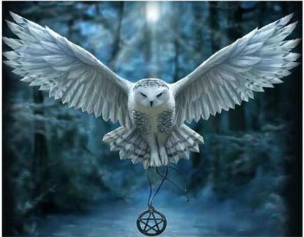 Full Square Drill 5D DIY Diamond Painting Harry Potter Deer Owl 3D Embroidery Cross Stitch Mosaic Decor Gift
