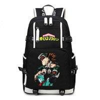 Cosplaydiy My Hero Academia Backpacks School Bags Todoroki Shoto Izuku Midoriya 3D Print Travelbag L320