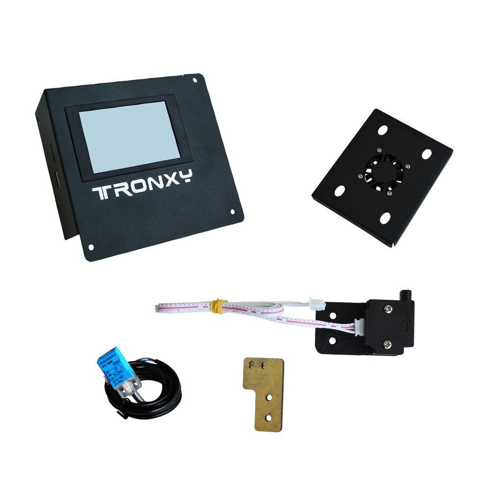 Tronxy X5S Para X5SA ou X5S-400 para kit de Atualização da Tela de Toque Auto nivelamento X5SA-400 Filamento correr para fora de detecção de falha de Energia currículo