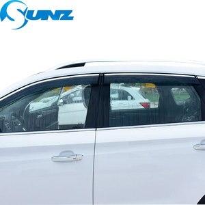 Image 5 - Osłona okienna do BMW 320i 2010 2018 osłona boczna szyba osłony przeciwdeszczowe do BMW 320i 2010 2018 SUNZ