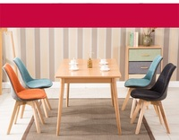 Exhibition Hall Chair Office Meeting Room Chair Hotel Bar Stool Red Orange Green White Black Grey