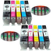 10 Compatible Canon 570 571 XL cartucho de tinta para Pixma MG5750 MG5751 MG5752 MG5753 MG7750 MG7751 MG7752 MG7753