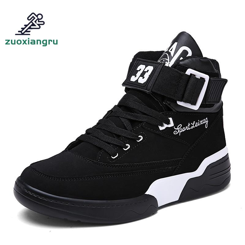 Zuoxiangru New Men's Basketball Shoes Outdoor Cushioning High Sneakers Footwear Sports Shoes Mens Basketball Shoes