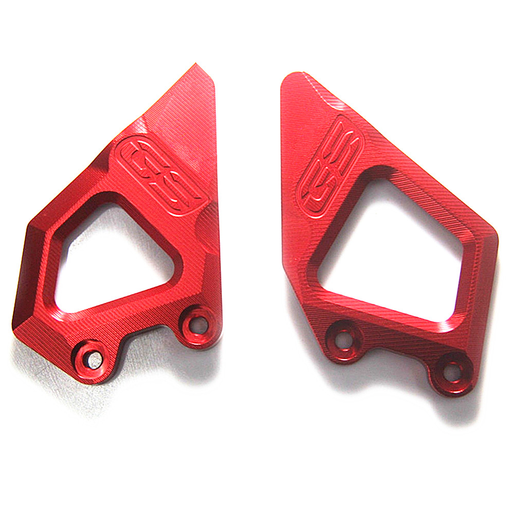 Footrest Protector FootPegs Heel Plates Guard for BMW R1200 GS R1200GS R 1200 GS 2013 2014