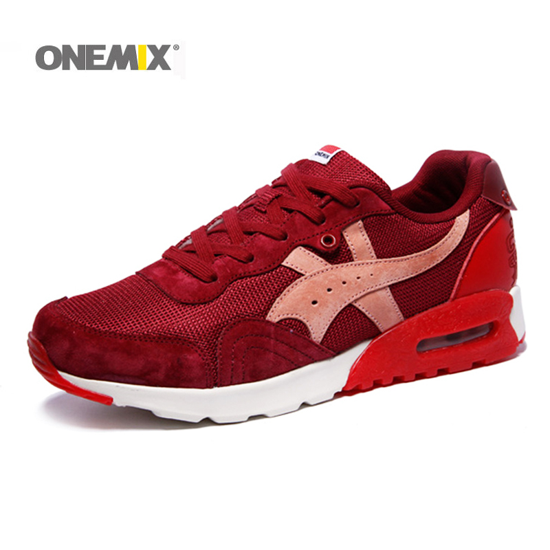 ONEMIX New Arrival Men Sport Shoes  Retro Running Shoes for Men Lace Up Athletic Sneakers Retro Sport Shoes Factor Sale
